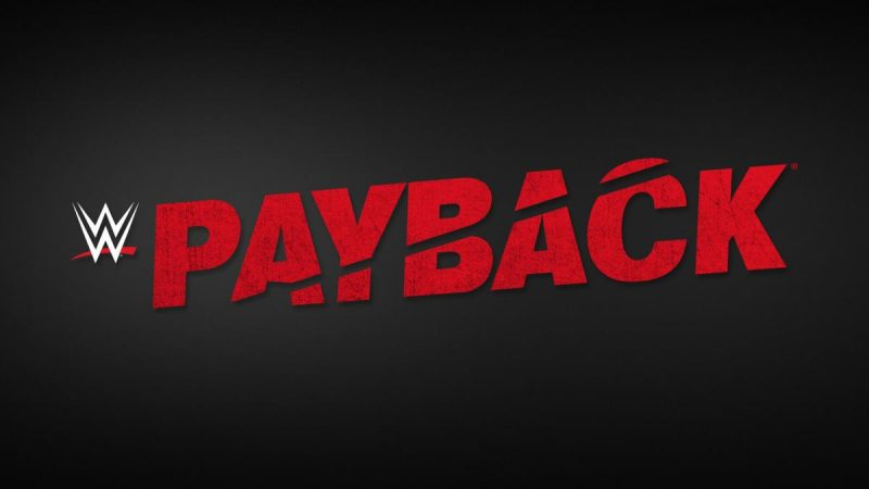 WWE PayBack Returns August 30, 2020