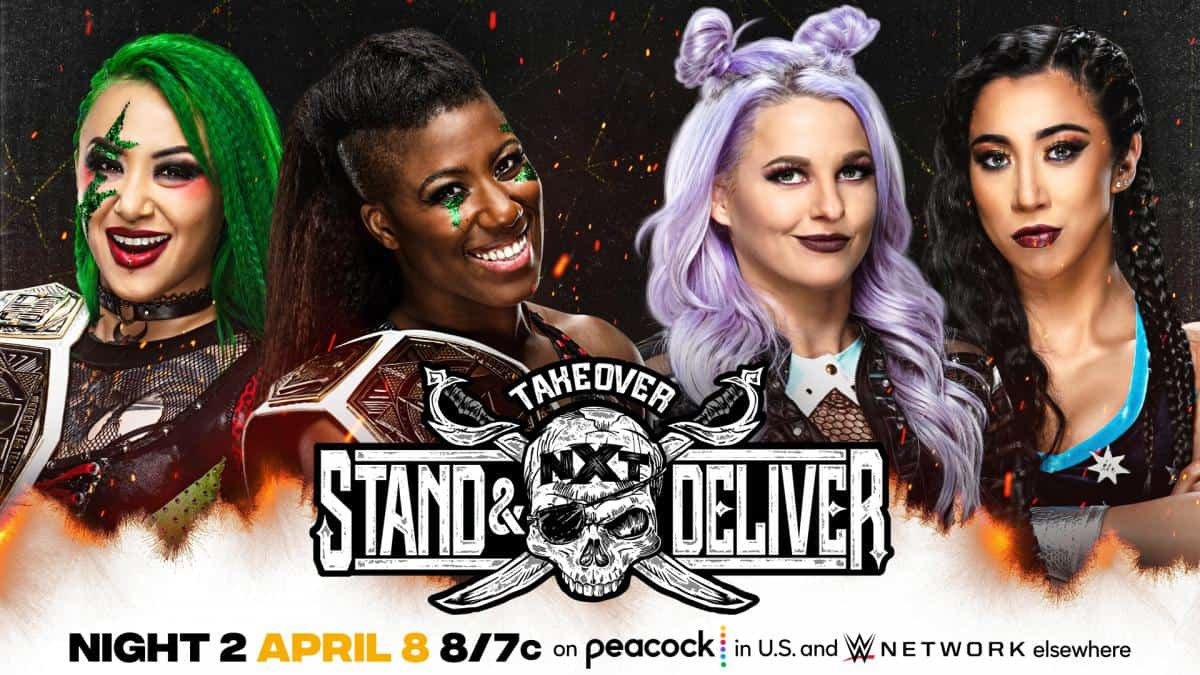 NXT TAKEOVER: Stand and Deliver Night Two Predictions