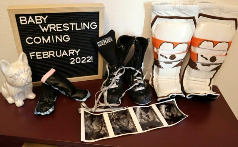 Candice LeRae and Johnny Gargano are expecting a baby in February 2022.