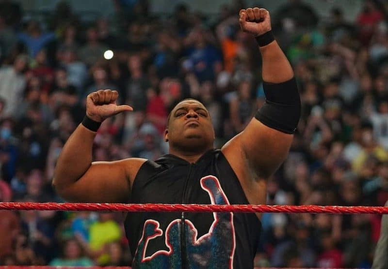 Keith Lee was away from WWE for several months due to complications from COVID-19.