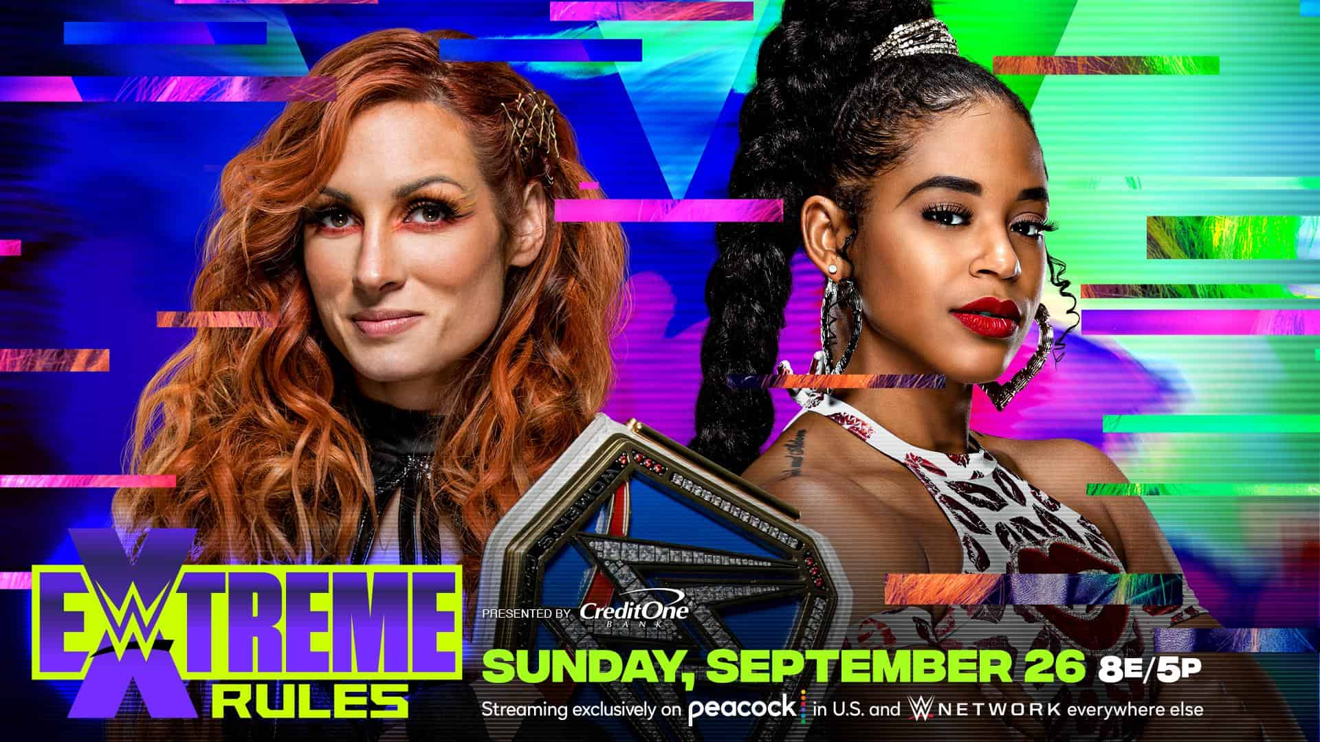 Becky Lynch vs Bianca Belair at Extreme Rules